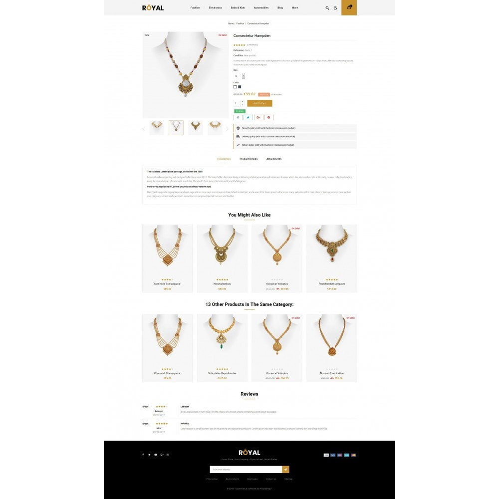 theme - Schmuck & Accesoires - Royal - Jewellery Store - 5