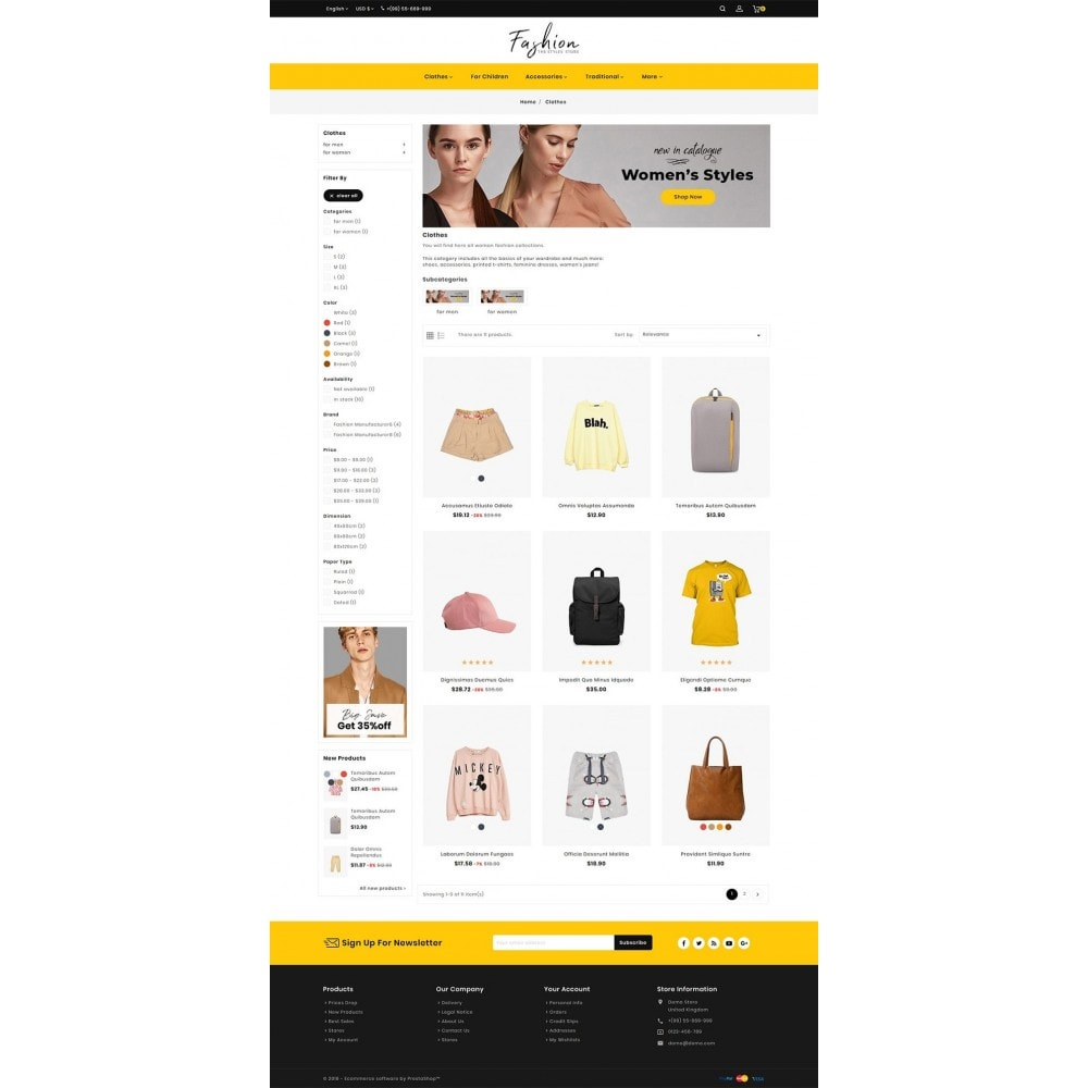 theme - Moda & Obuwie - Fashion - The Stylus Store - 3