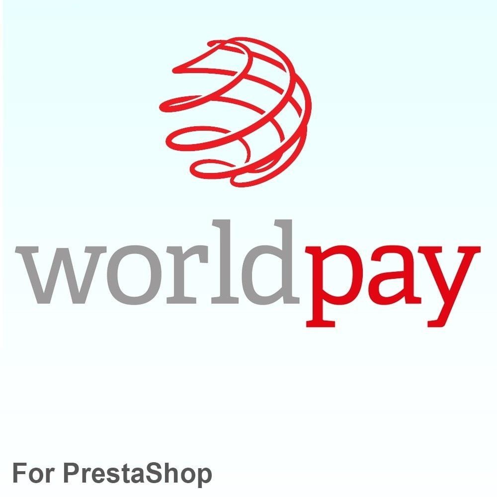 module - Оплата банковской картой или с помощью электронного кошелька - Worldpay способ оплаты - 1