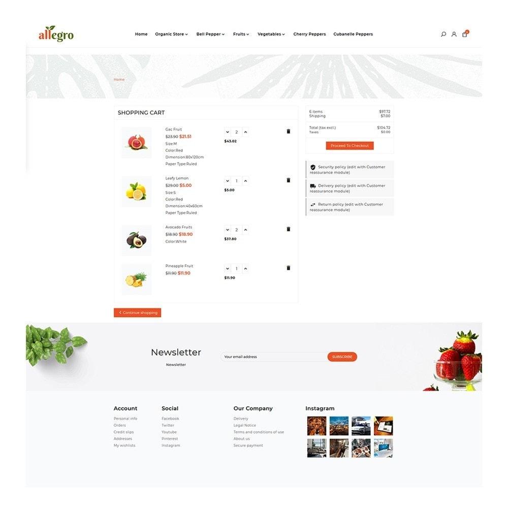 theme - Gesundheit & Schönheit - Orgánica - Organic Fresh Mall - 5