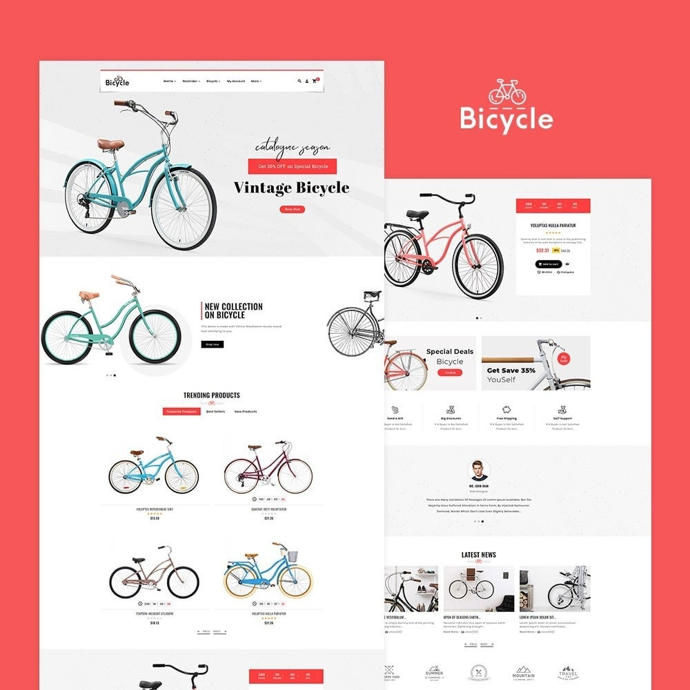 theme - Sport, Loisirs & Voyage - Bicycle Shop - 2