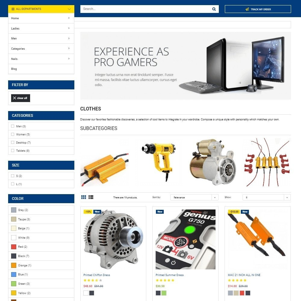 theme - Auto & Moto - Autopart and Tools Stores - 4