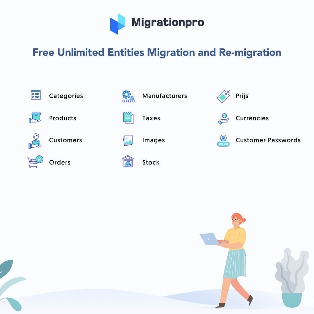 module - Data migration & Backup - MigrationPro: X-Cart to PrestaShop Migration tool - 2