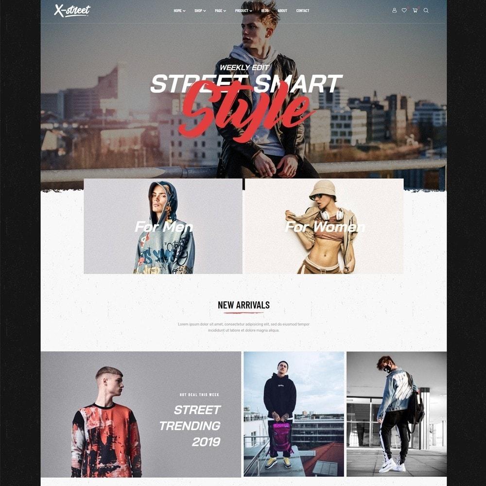 theme - Fashion & Shoes - Leo Xstreet - Street Style Fashion Store - 4