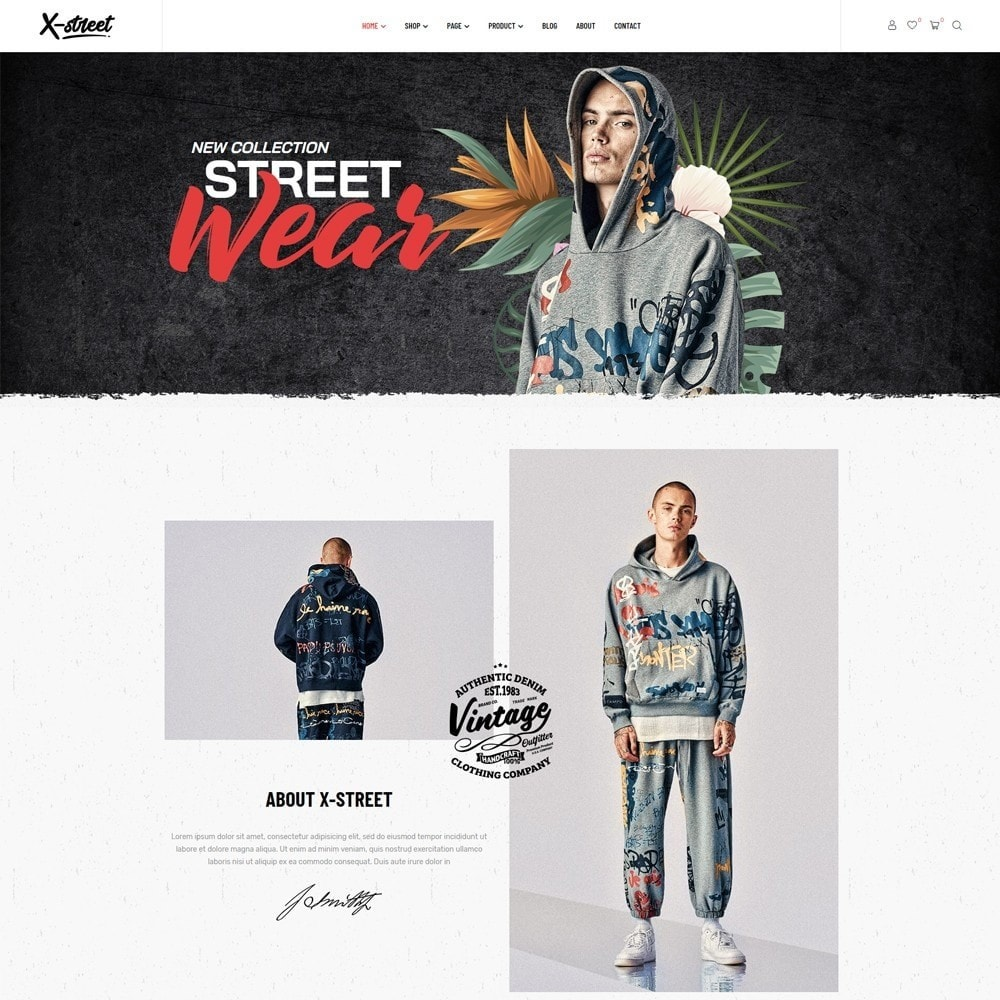 theme - Mode & Chaussures - Leo Xstreet - Street Style Fashion Store - 5