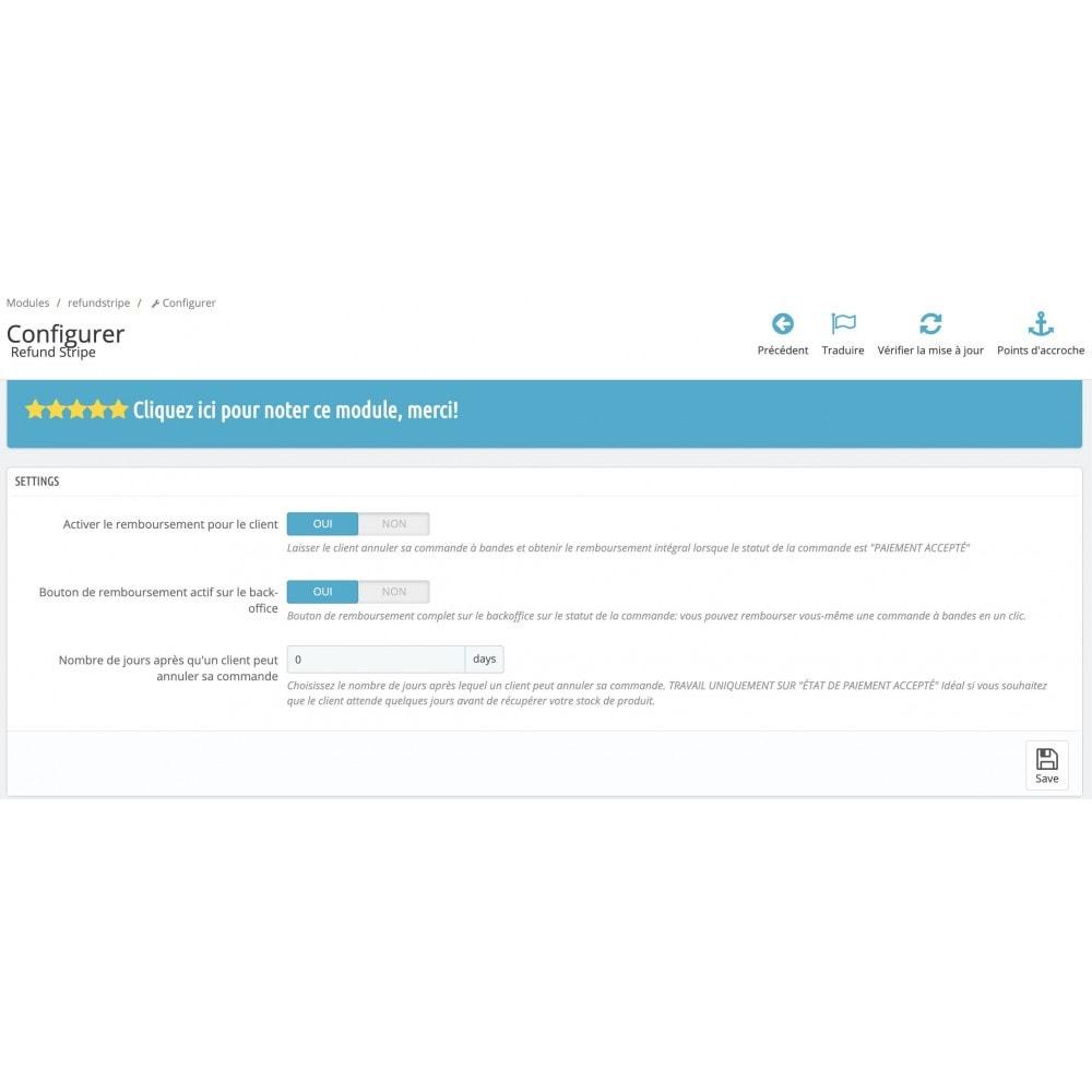 module - Gestion des Commandes - Remboursement auto PayPal - Annulation par le client - 2