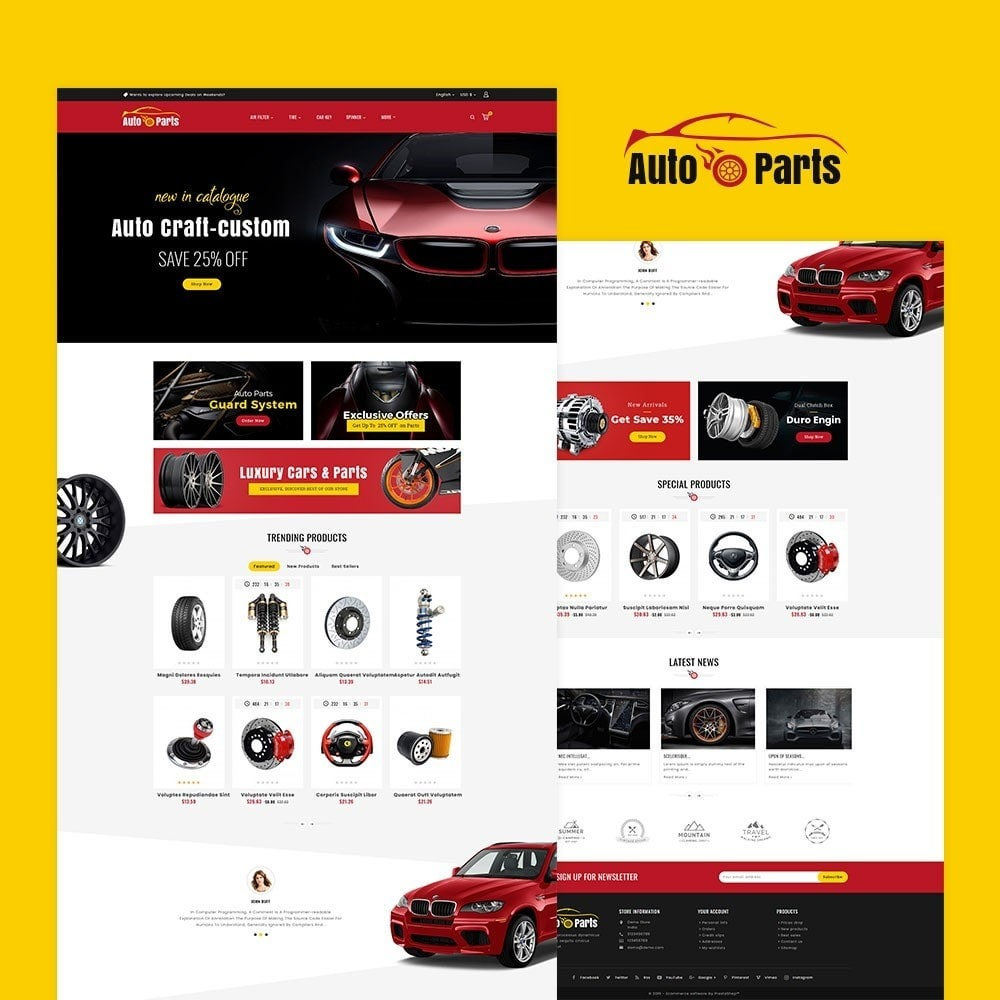 theme - Automotive & Cars - Auto Parts & Automotive - 2