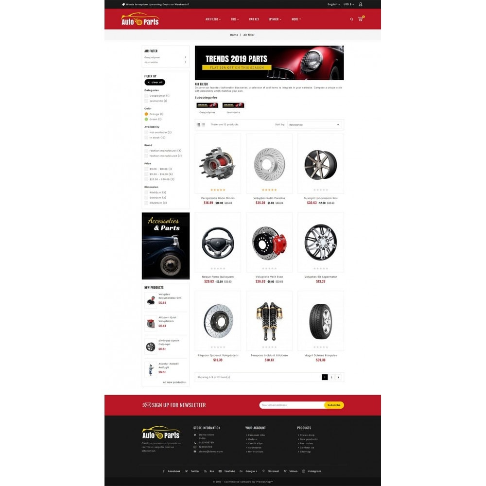 theme - Automotive & Cars - Auto Parts & Automotive - 3