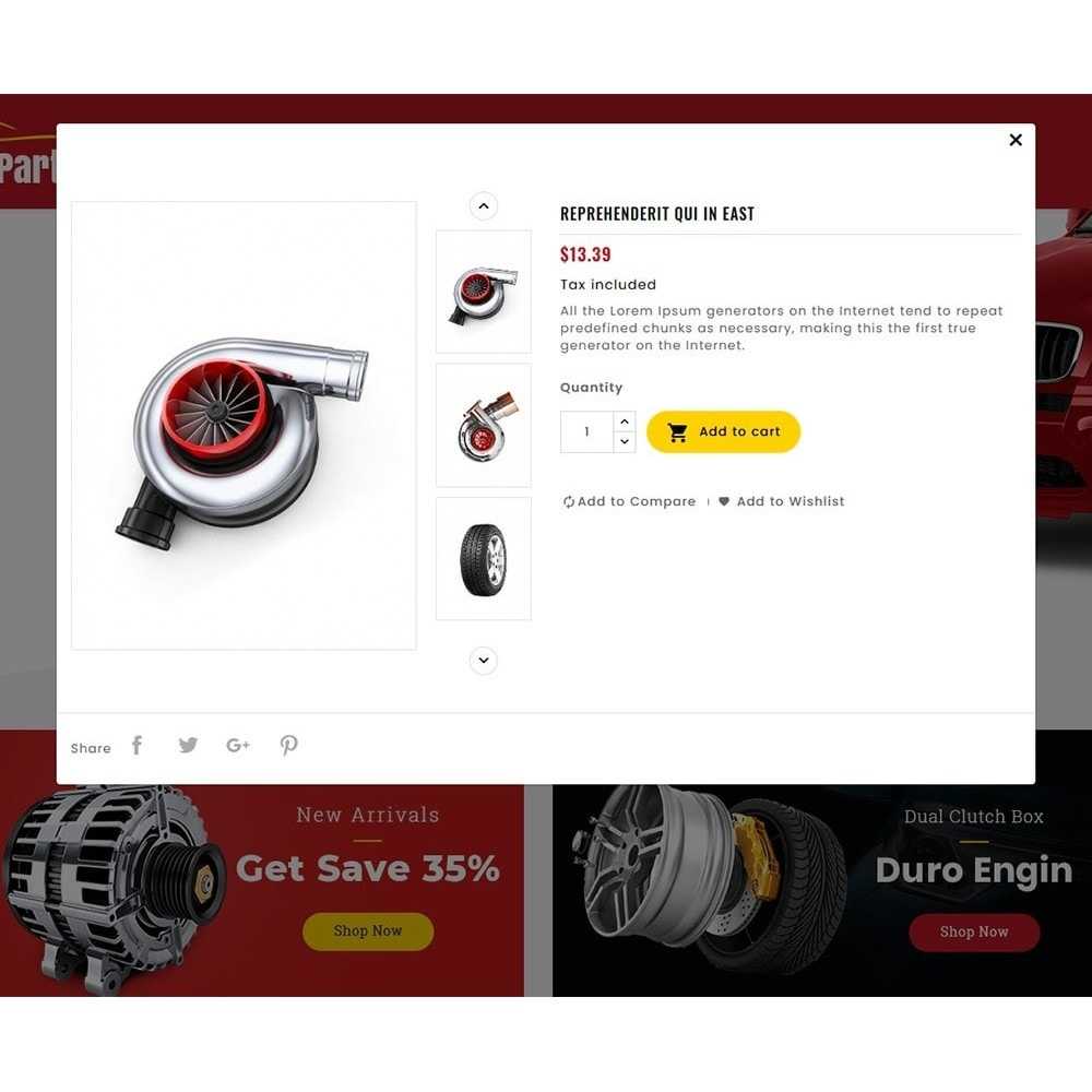 theme - Automotive & Cars - Auto Parts & Automotive - 8