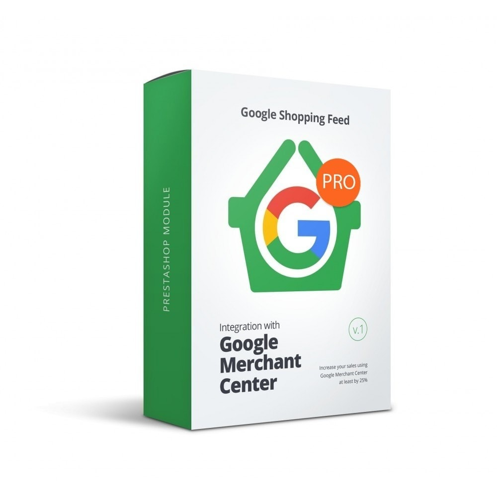 module - Porównywarki cen - Google Merchant Center (Google Shopping Feed) PRO - 1