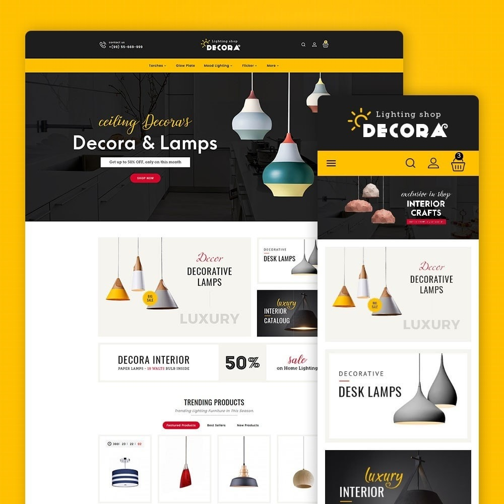 theme - Hogar y Jardín - Decora Lighting Shop - 1