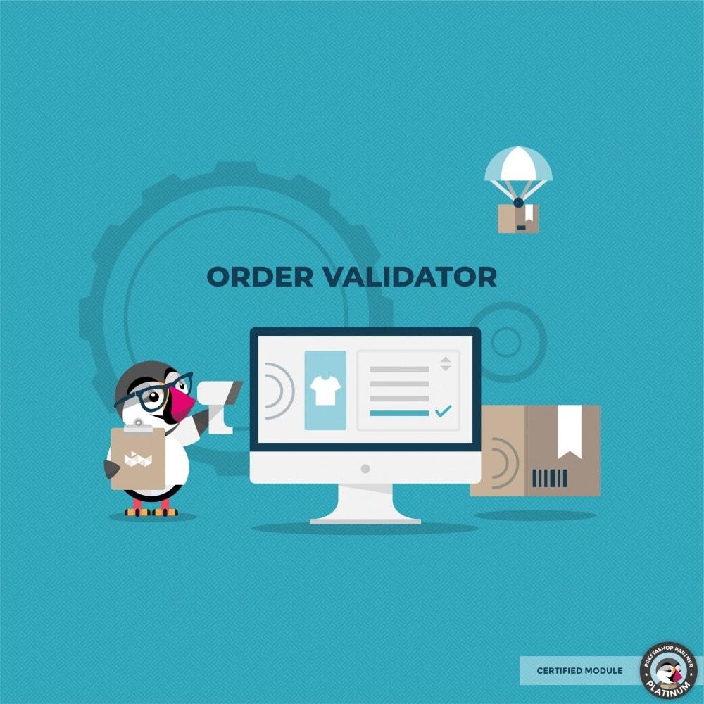 module - Управление заказами - Validate Orders - 1