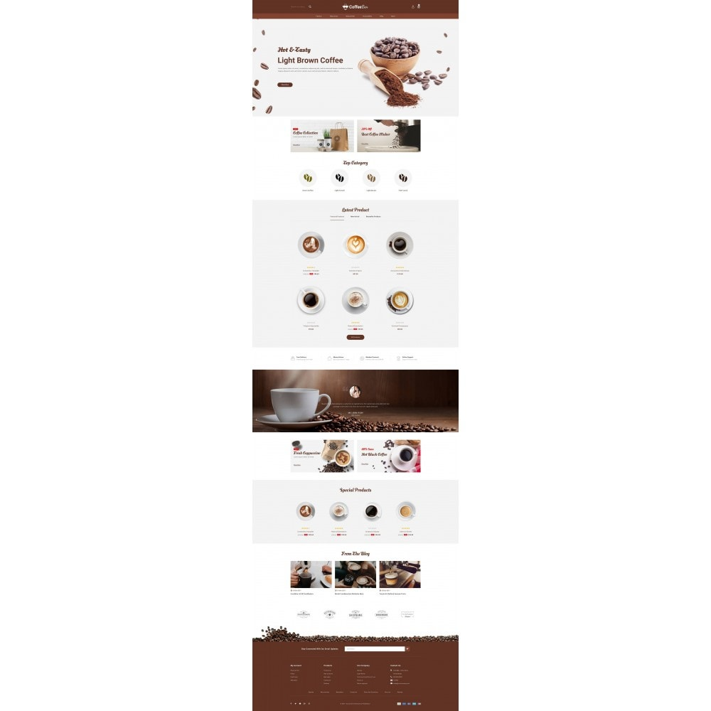 theme - Alimentation & Restauration - The Coffee Shop - 2