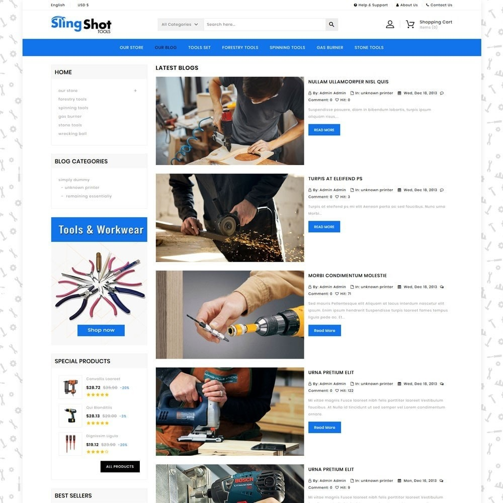 theme - Auto & Moto - Slinshot - Le magasin d'outils - 7