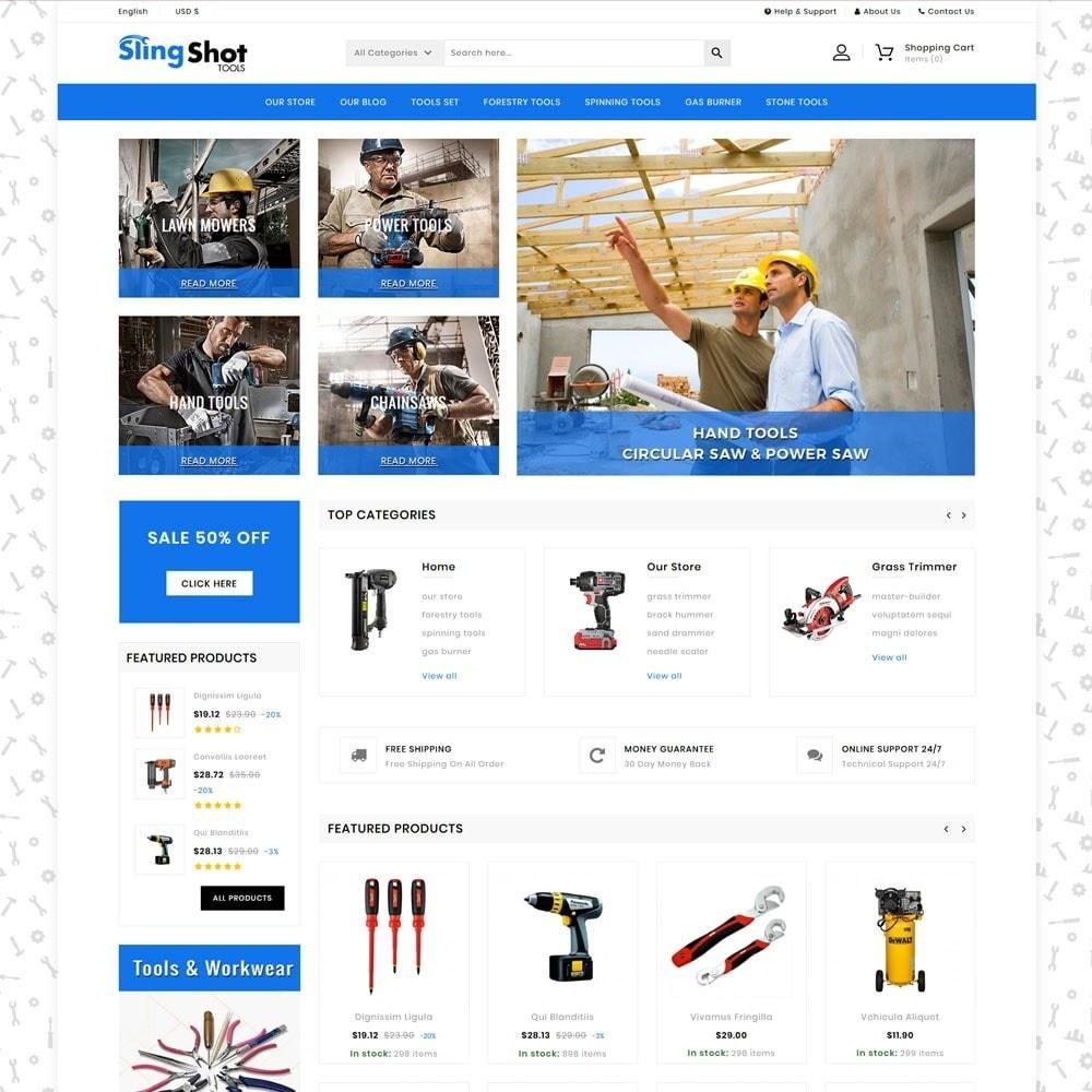 theme - Auto & Moto - Slinshot - The Tool Store - 3