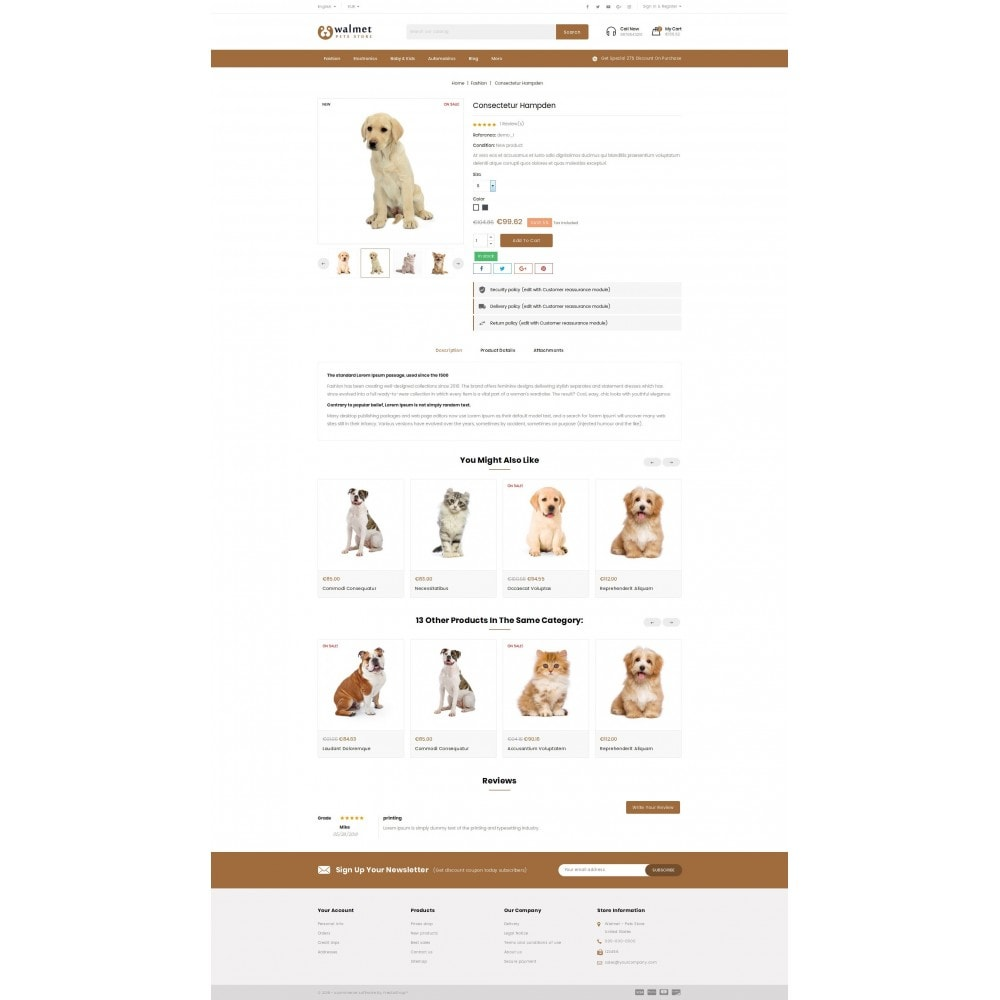 theme - Animals & Pets - Walmet - Pets Store - 5