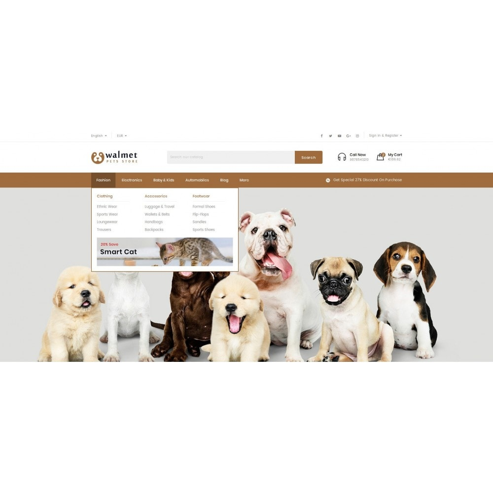 theme - Animals & Pets - Walmet - Pets Store - 6