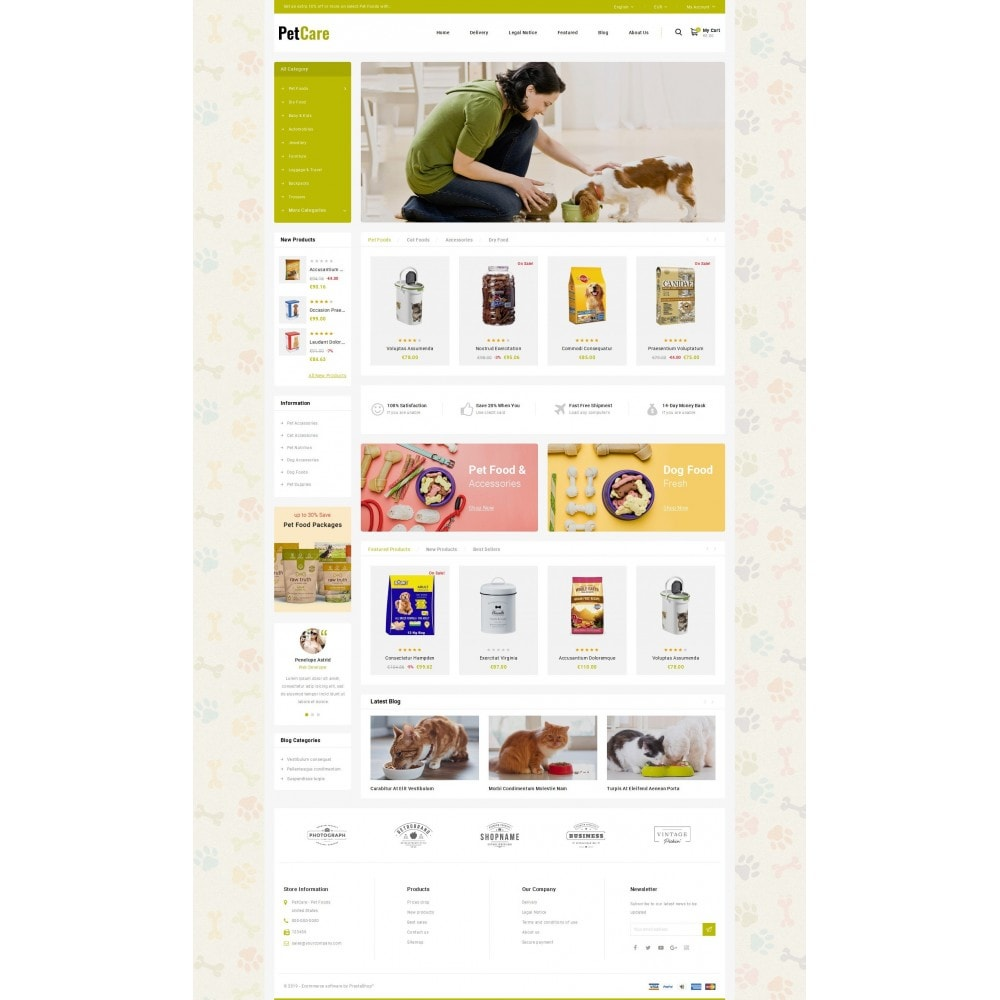 theme - Animaux - Petcare - Pets Food Store - 2