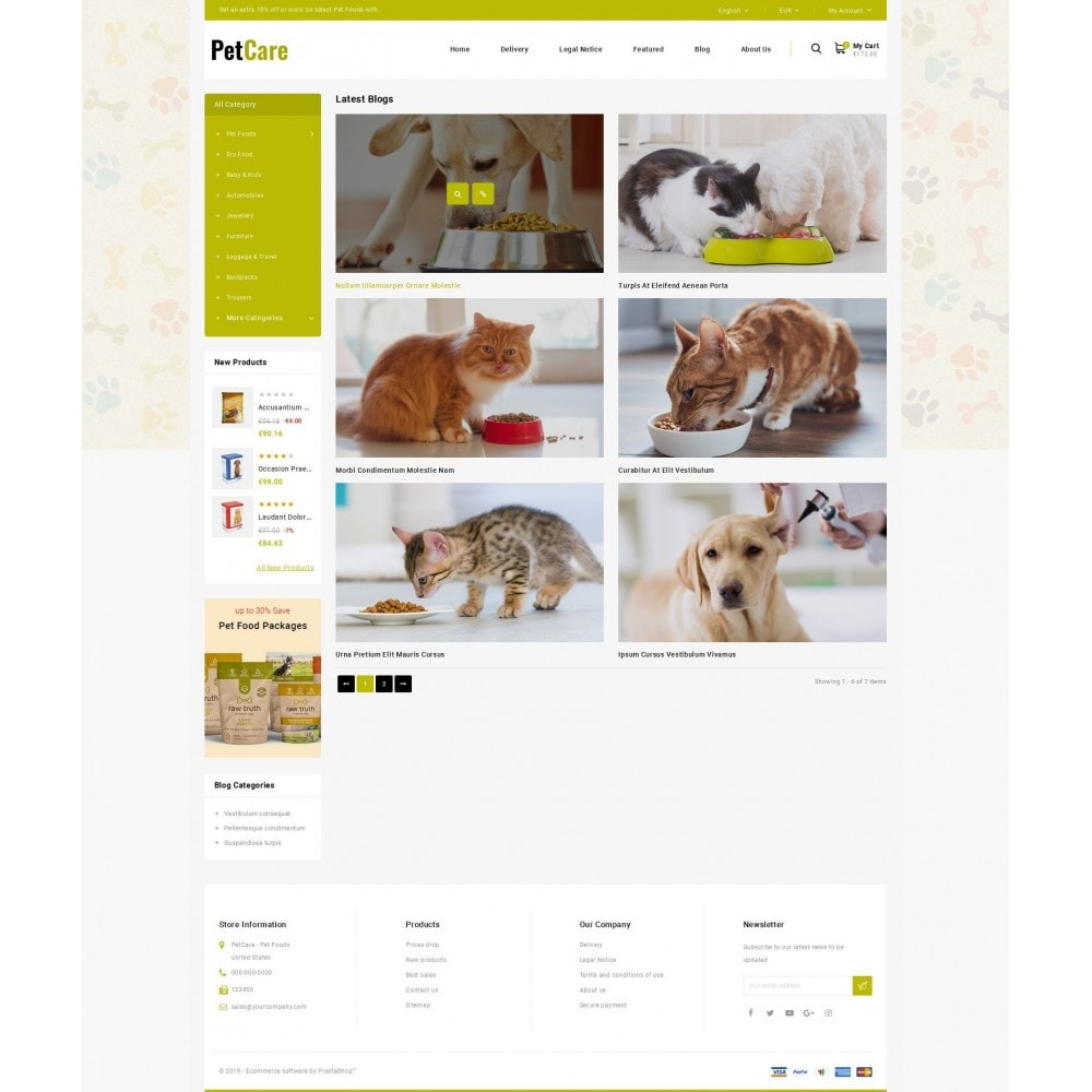theme - Animaux - Petcare - Pets Food Store - 8