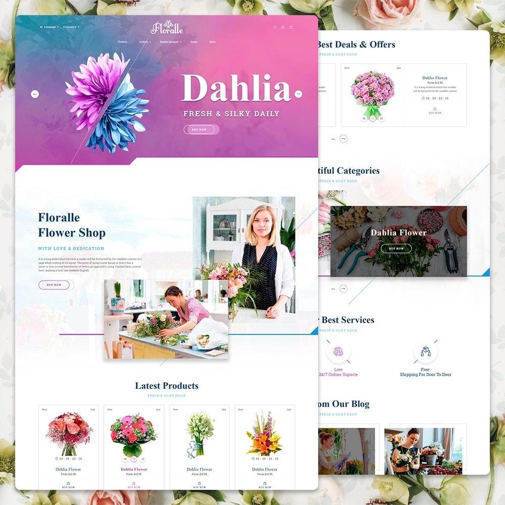 theme - Cadeaux, Fleurs et Fêtes - Flower Store  - Floralle Responsive Template - 2