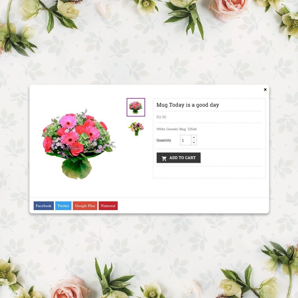 theme - Gifts, Flowers & Celebrations - Flower Store  - Floralle Responsive Template - 7