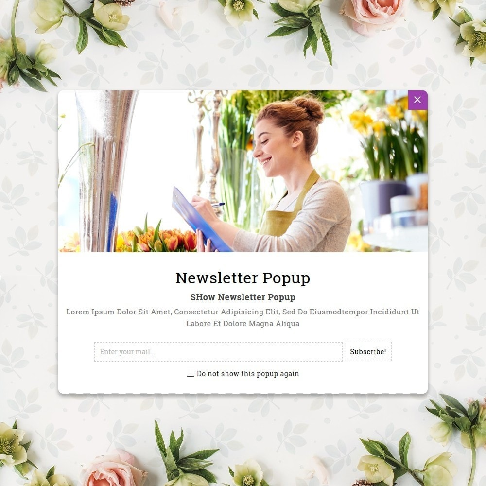 theme - Gifts, Flowers & Celebrations - Flower Store  - Floralle Responsive Template - 8