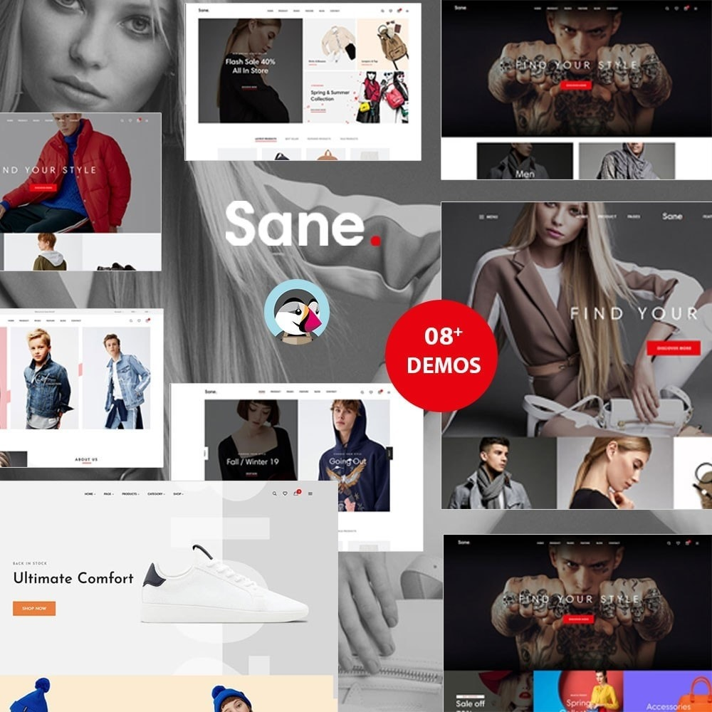 theme - Fashion & Shoes - Ap Sane - 4