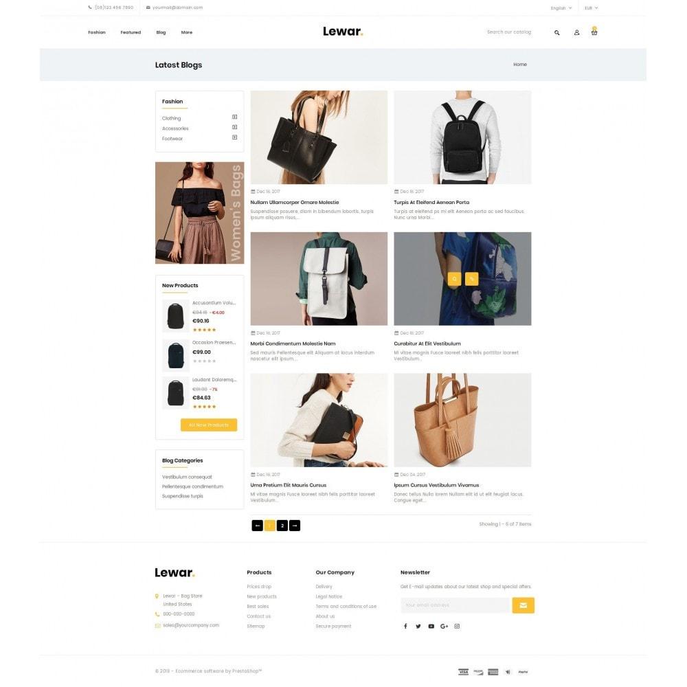 theme - Мода и обувь - Lewar Bag Store - 9