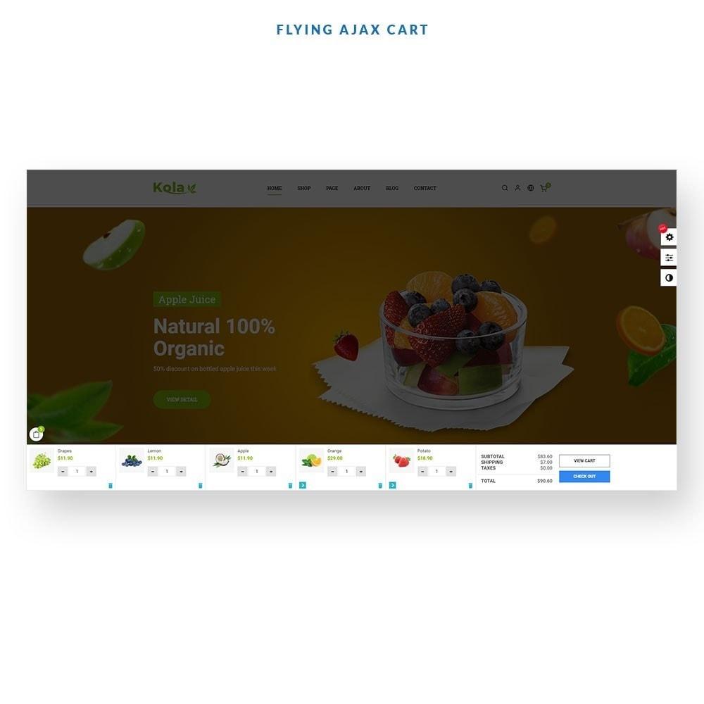 theme - Gastronomía y Restauración - Kola – Organic & Food Store - 3