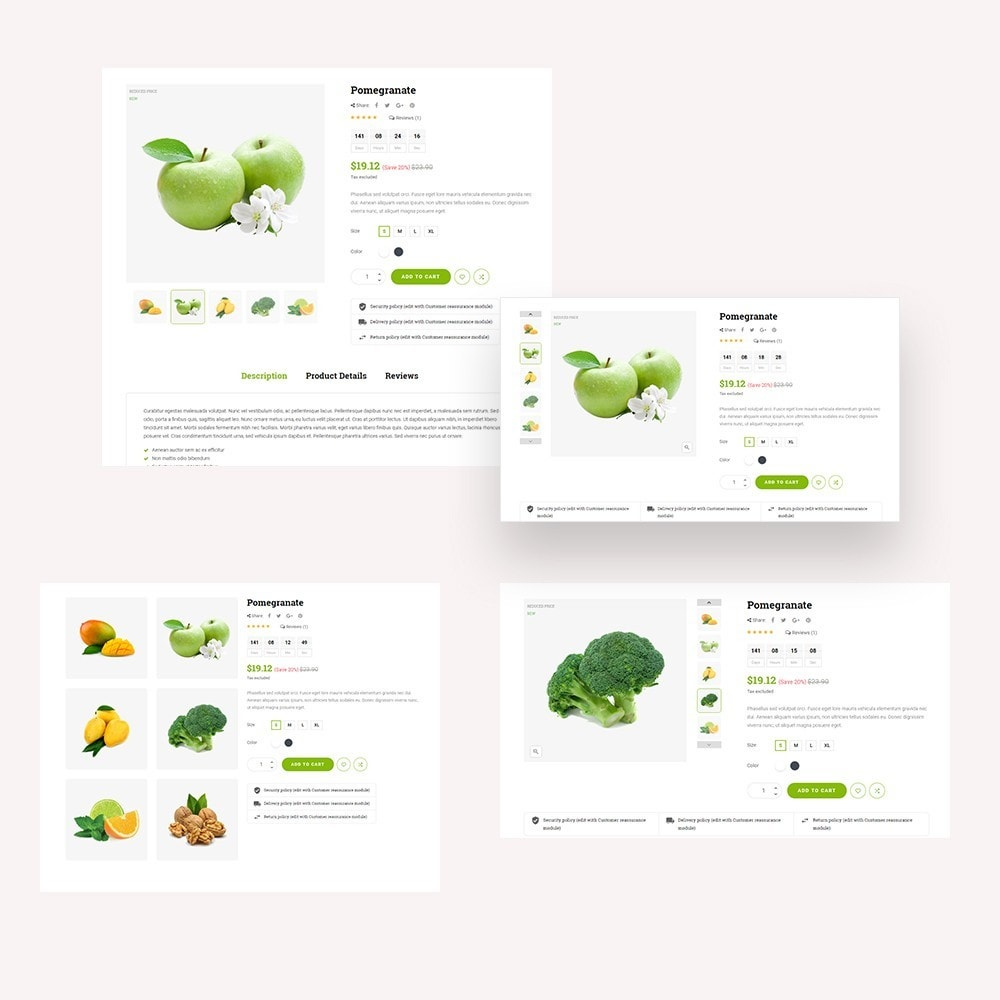 theme - Alimentation & Restauration - Kola – Organic & Food Store - 5