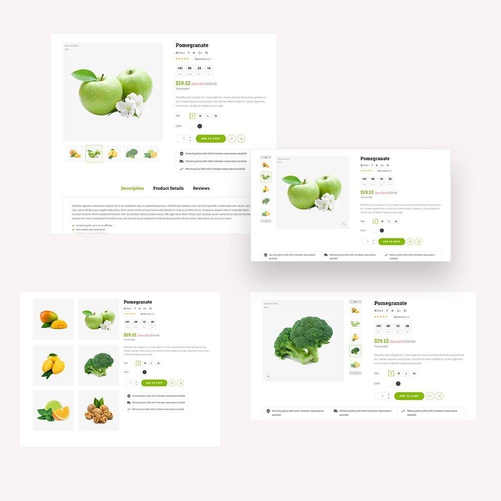 theme - Gastronomía y Restauración - Kola – Organic & Food Store - 5