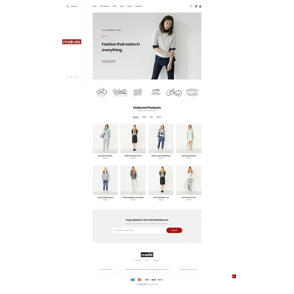 theme - Fashion & Shoes - Makula - Premium Fashion Theme - 8