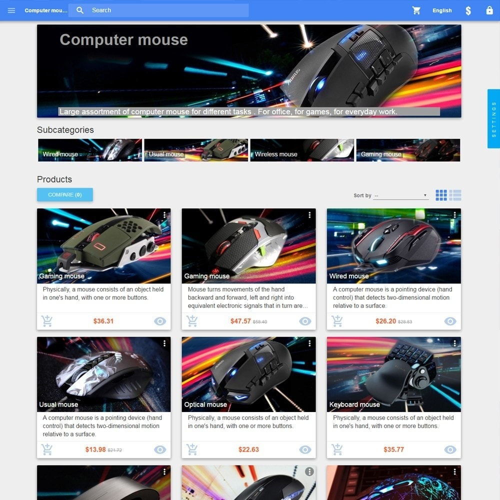 theme - Electronics & Computers - Material design Google - 3