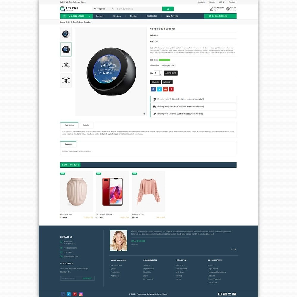 theme - Electronics & Computers - shopeza - The MultiStore Theme - 5
