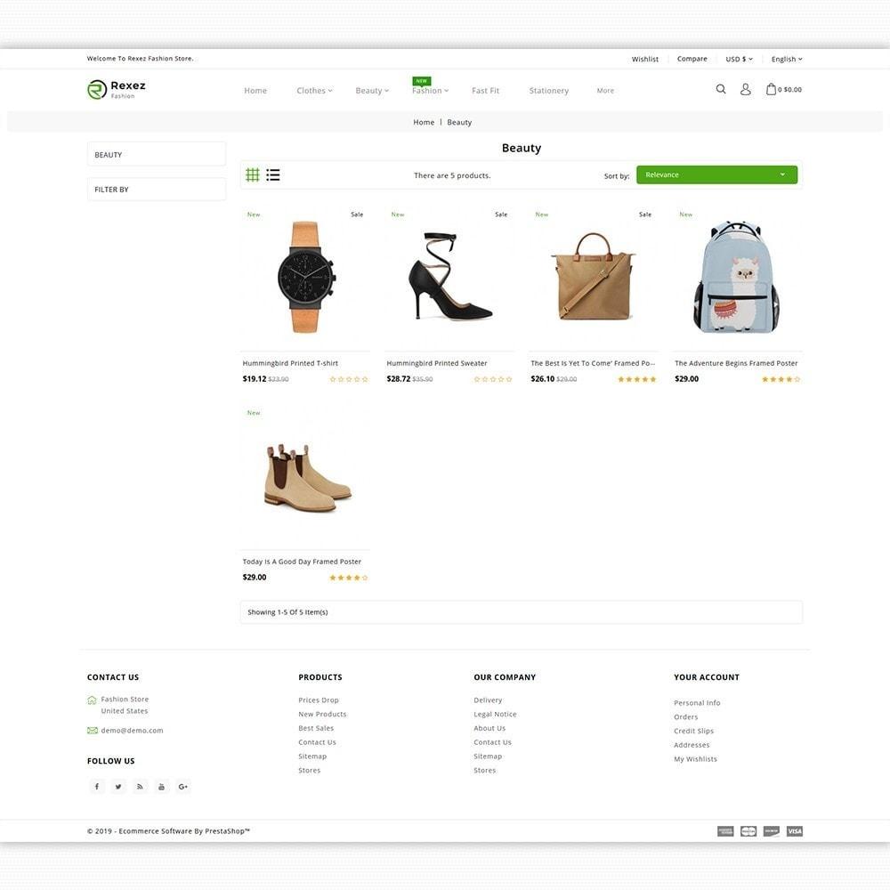 theme - Fashion & Shoes - Rexez - The Best Fashion Store - 3