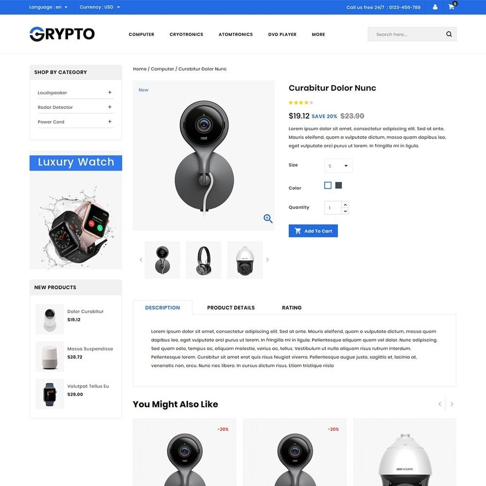 theme - Elektronika & High Tech - Grypto - Multipurpose Shop - 4
