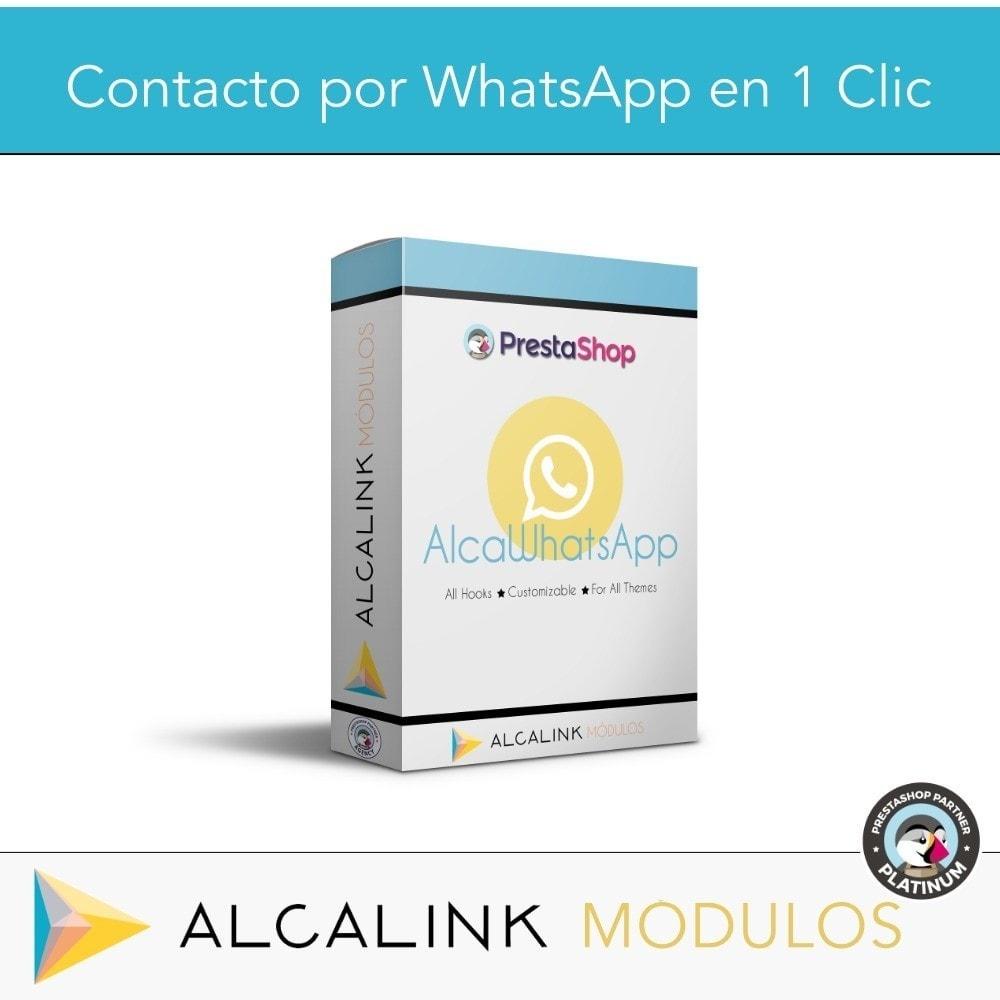 module - Asistencia & Chat online - Contacto por WhatsApp en 1 Clic - 1