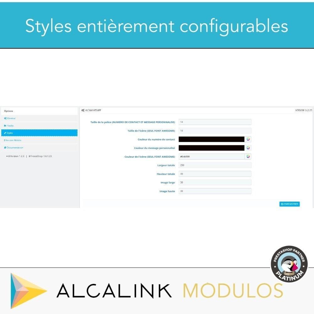 module - Support & Chat Online - Contacté par WhatsApp en 1 clic - 4