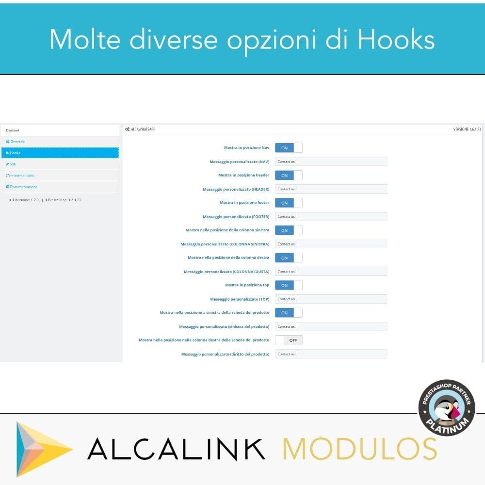 module - Supporto & Chat online - Contattare da WhatsApp in 1 clic - 3
