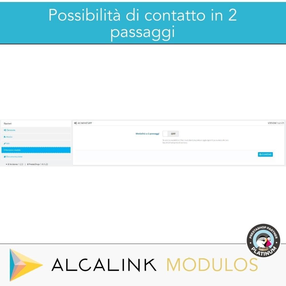 module - Supporto & Chat online - Contattare da WhatsApp in 1 clic - 5