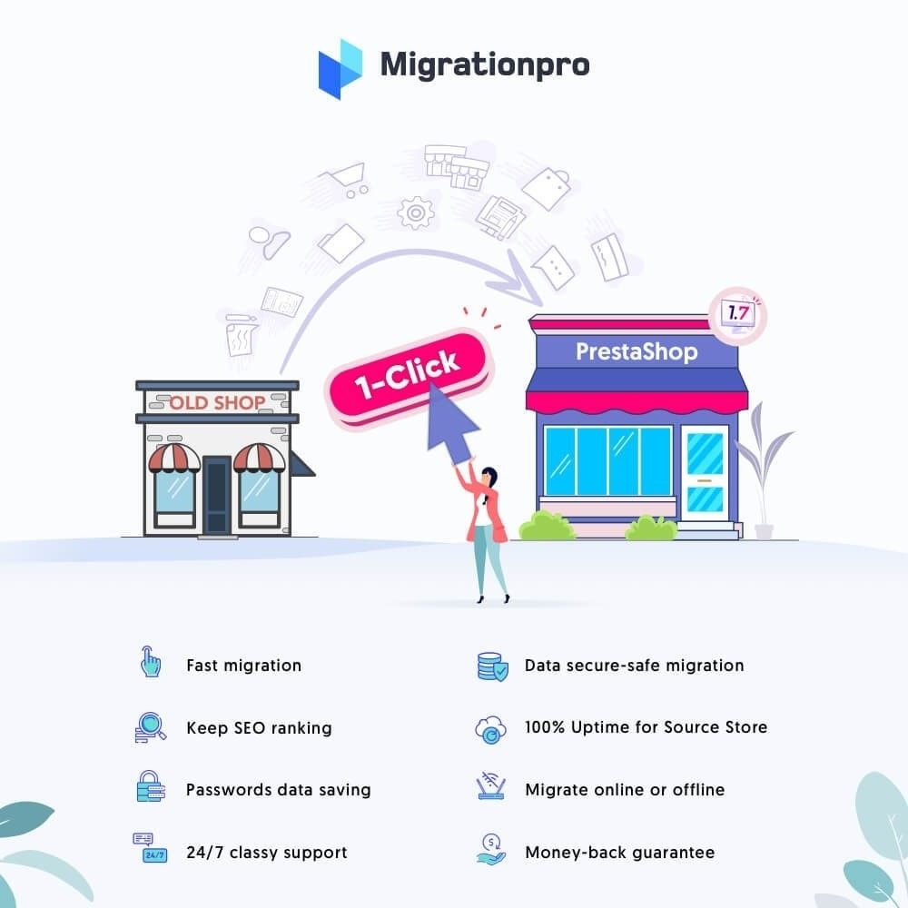 module - Data migration & Backup - MigrationPro: Prestashop Upgrade and Migrate tool - 1
