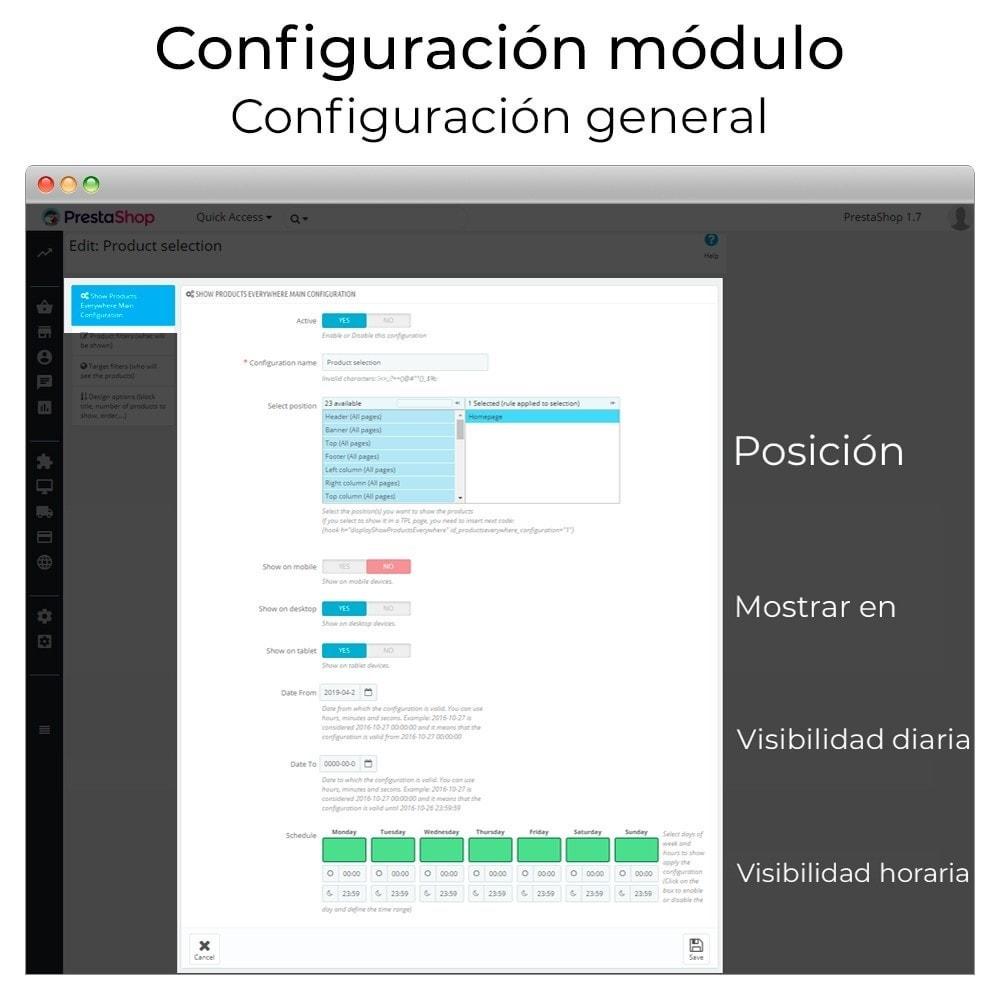 module - Sliders y Galerías de imágenes - Carrusel y slider de productos - 3