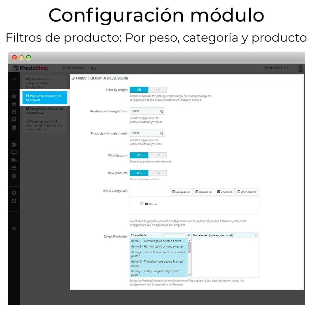 module - Sliders y Galerías de imágenes - Carrusel y slider de productos - 5