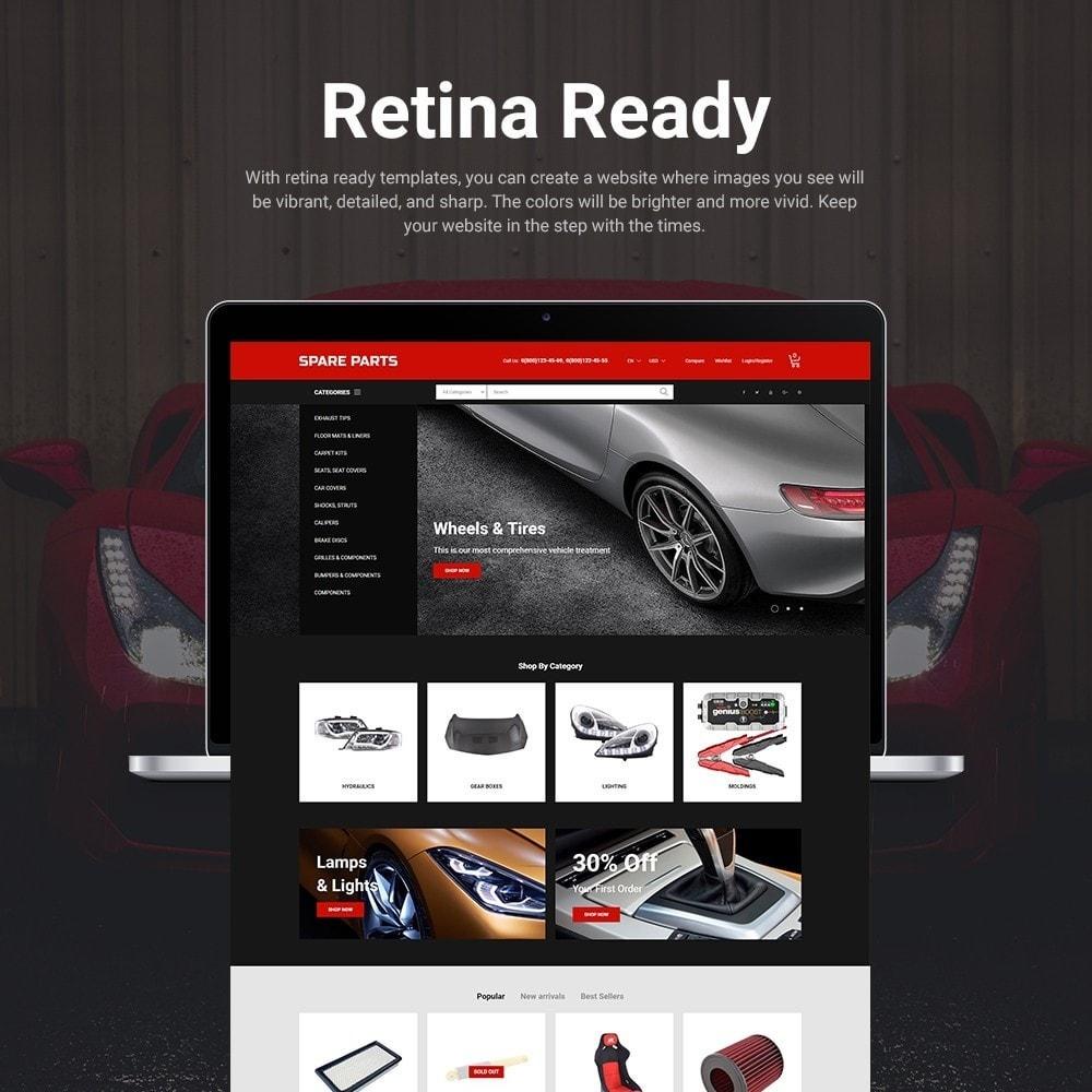 theme - Automotive & Cars - Automobile - Spare Parts Store - 3
