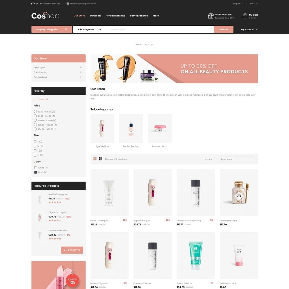 theme - Jewelry & Accessories - Cosmart - The Cosmetic Mega Store - 6