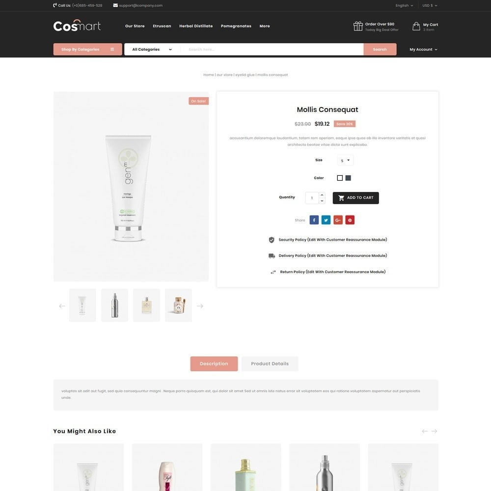 theme - Jewelry & Accessories - Cosmart - The Cosmetic Mega Store - 8