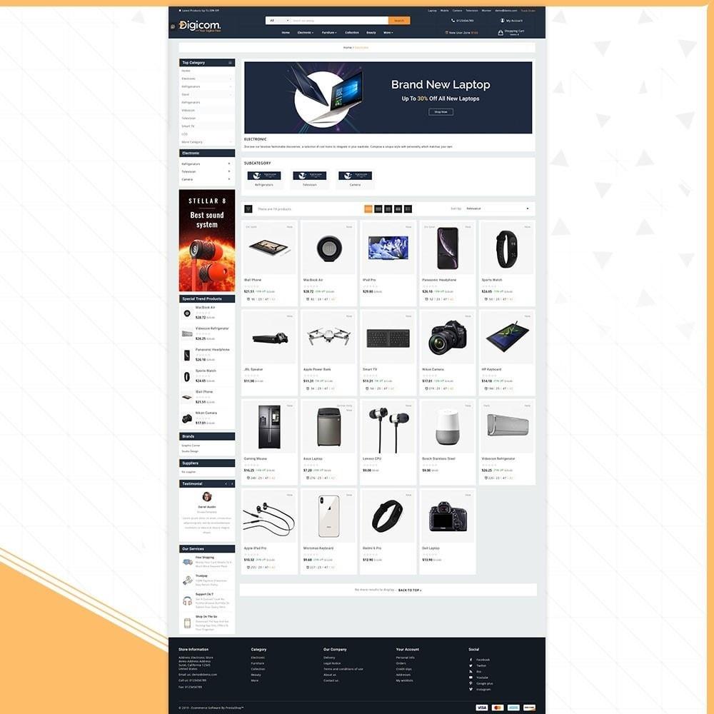 theme - Electronics & Computers - Digital Digicom - Électronique Shop - 3