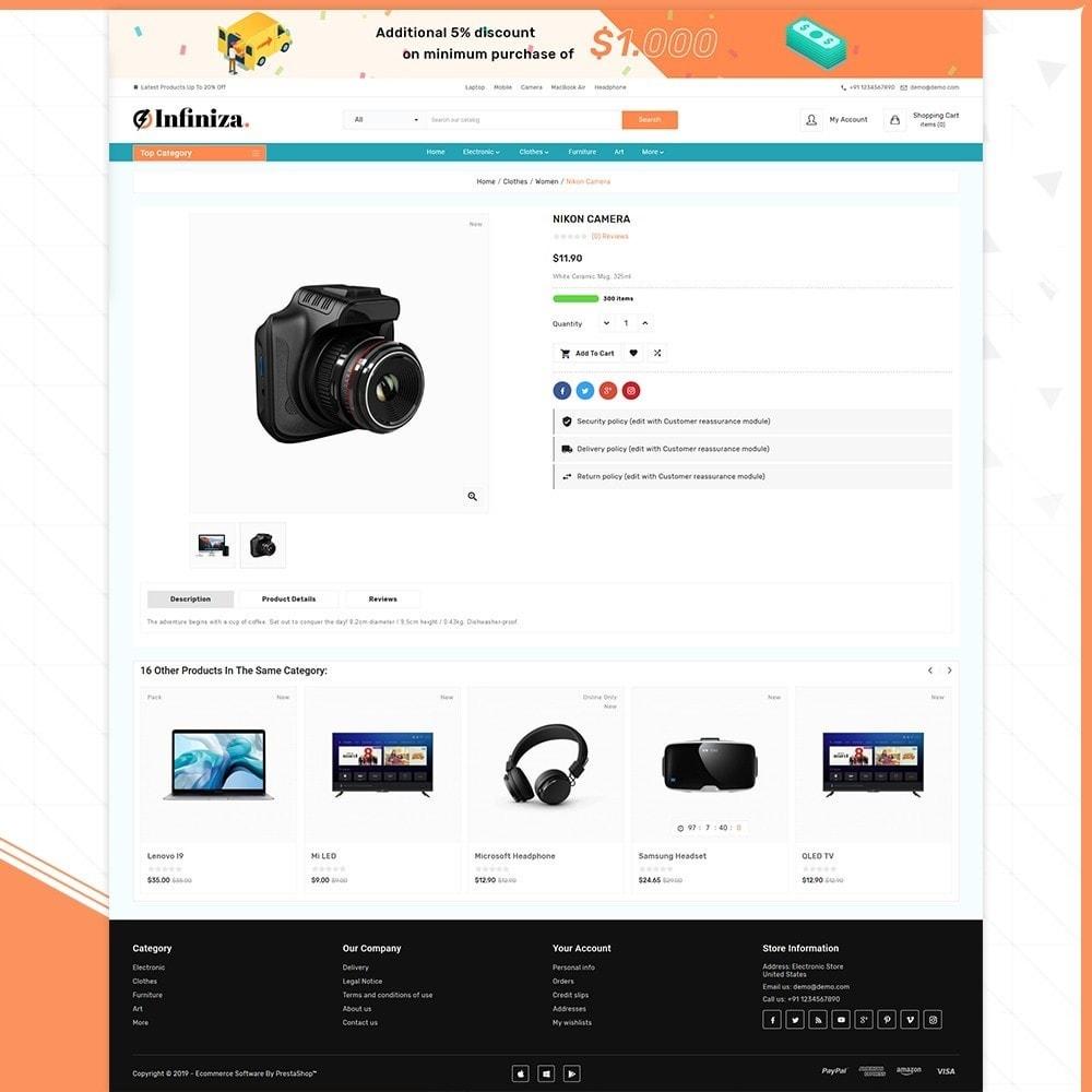 theme - Elektronik & High Tech - Infiniza - Electronics Big Store - 4