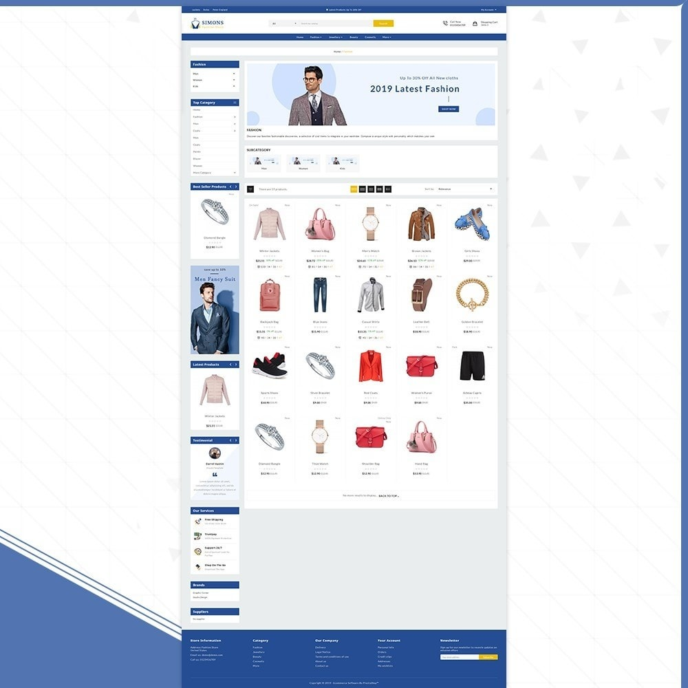 theme - Fashion & Shoes - Moda Simons - Fashion Store - 3