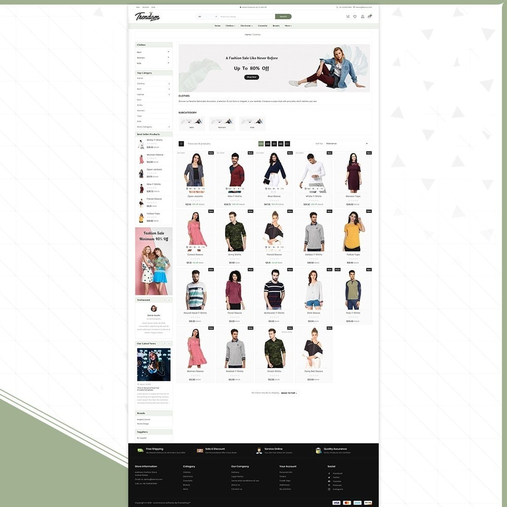 theme - Fashion & Shoes - Femmes - Style Fashion Store - 3
